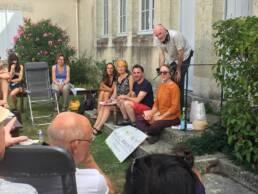 Talking Walking Podcast - Panel Discussion, La Romieu