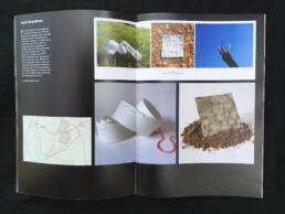 Catalogue Pages for RuthBroadbent: Ground Works Exhibition 2021