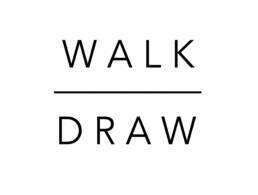 Walk Draw text logo